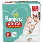Fraldas Pampers Pants P - 26 Unidades