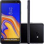 "Smartphone Samsung Galaxy J4 Core 16GB Nano Chip Android Tela 6"" Quad-Core 1.4GHz  4G Câmera 8MP - Preto"