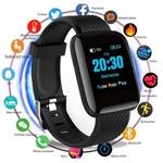 Smartwatch D13 Relógio Inteligente Ritmo cardíaco Pressão arterial Calorias Lançamento