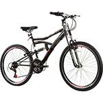 Bicicleta Track Boxxer Aero Aro 26 Aço 21 Marchas - Preta