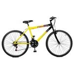 Bicicleta 26 Max Power 18 Marchas Amarelo/preto Masterbike