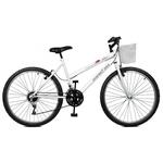 Bicicleta 26 Serena Plus 21 Marchas Branco Masterbike