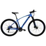 Bicicleta Aro 29 Freio Hidráulico Fox MTB Quadro 15.5 24v Azul Preto - Lotus