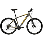 Bicicleta aro 29 Mtb 21v Aluminio Freio a Disco Hole Dalannio Bike