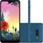 "Smartphone LG K50s 32GB Dual Chip Android 9.0 Tela 6.5"" Octa Core 2.0GHz 4G 13MP + 5MP + 2MP - Azul"