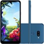 "Smartphone LG K40s 32GB Dual Chip Android 9 Tela 6.1"" Octa Core 2.0GHz 4G Câmera 13+5MP - Azul"