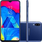 "Smartphone Samsung Galaxy M10 32GB Dual Chip Android 9.0 Tela 6,2"" Octa-Core 4G Câmera 13+5MP - Azul"
